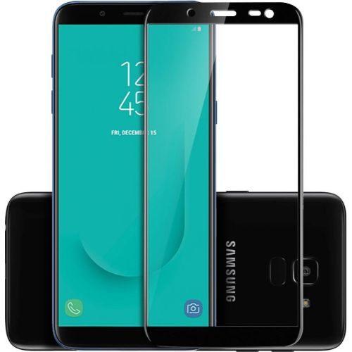 Samsung Galaxy J6 Tempered Glass Black High Quality 1