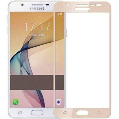Samsung Galaxy J7 2015 Tempered Glass Gold High Quality 1