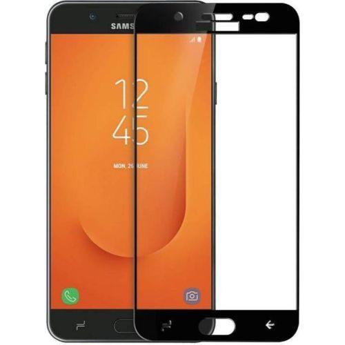 Samsung Galaxy J7 Duo Tempered Glass Black High Quality 1