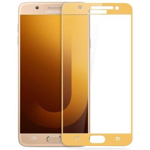 Samsung Galaxy J7 MAX Tempered Glass Gold High Quality 1