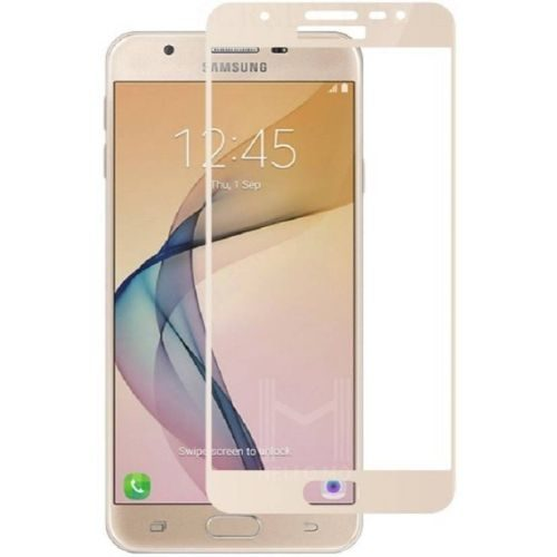 Samsung Galaxy J7 MAX / ON MAX Tempered Glass Gold High Quality 1