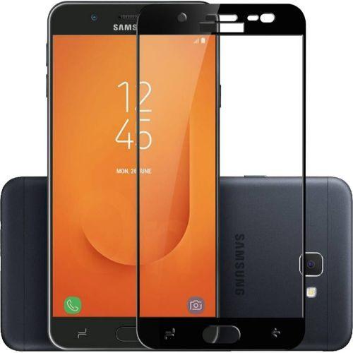 Samsung Galaxy J7 Prime 2 Tempered Glass Black High Quality 5D 1