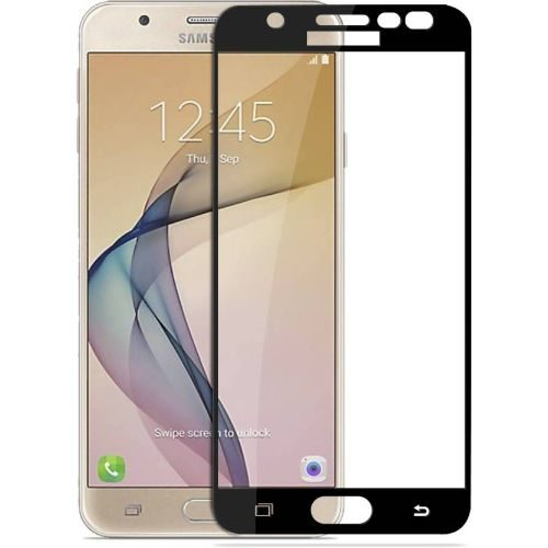Samsung Galaxy J7 Prime Tempered Glass Black High Quality 5D 1