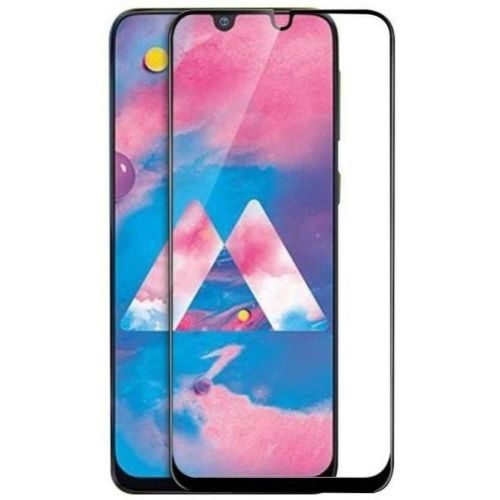 Samsung Galaxy M30 Tempered Glass Black High Quality 1