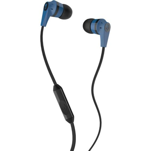 Skullcandy Ink'd Headset Headphones Earphones 3.5mm Jack with mic Blue