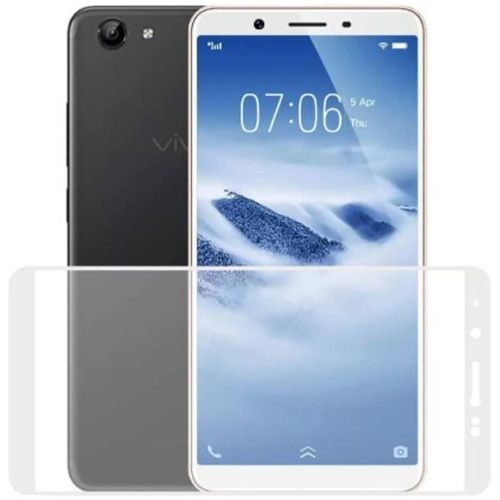Vivo Z10 Tempered Glass White High Quality 1
