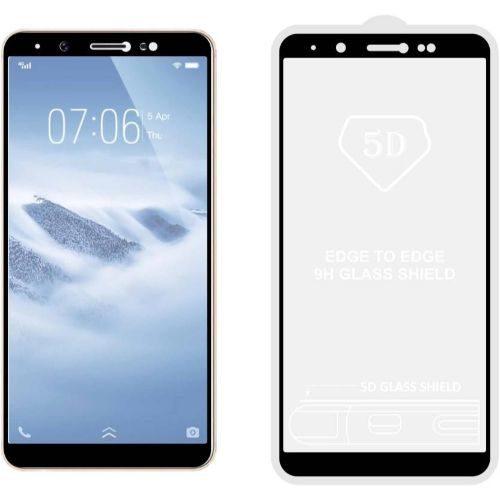 Vivo Y71 Tempered Glass Black High Quality 6D 1