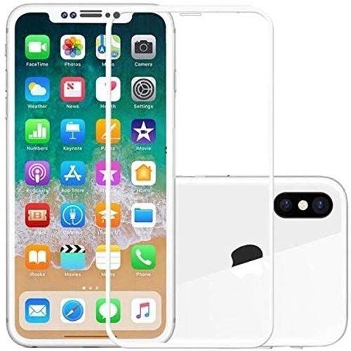 Apple iPhone X Tempered Glass White High Quality 6D 1