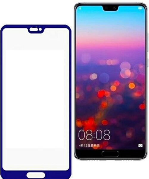 Huawei P20 Lite Tempered Glass Blue High Quality 2