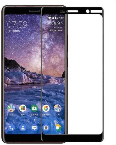 Nokia 7 Plus Tempered Glass Black High Quality 2