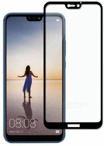 Huawei P20 Lite Tempered Glass Black High Quality 6D 2