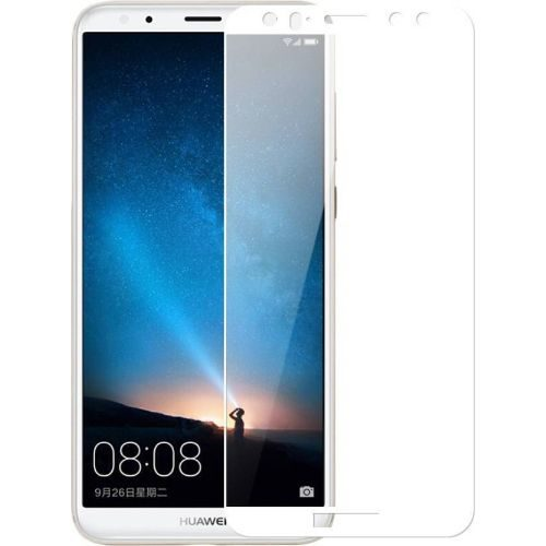 Honor 9i Tempered Glass White High Quality 6D 1