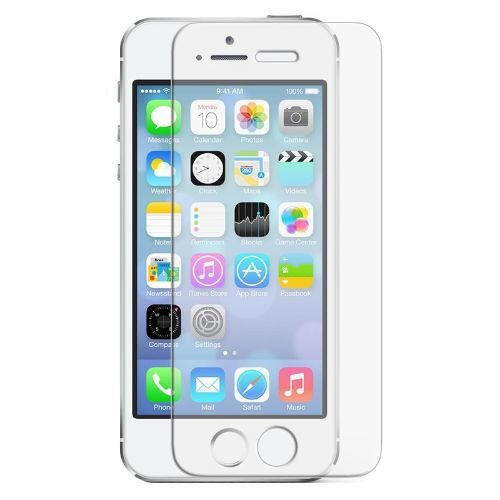 Apple iPhone 5 Tempered Glass 0.3mm Plain Transparent 1