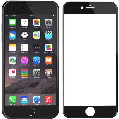 Apple iPhone 6 Tempered Glass Black High Quality 1