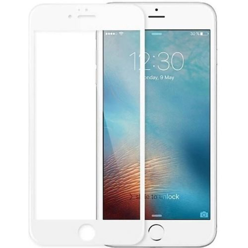 Apple iPhone 6S Tempered Glass White High Quality 1