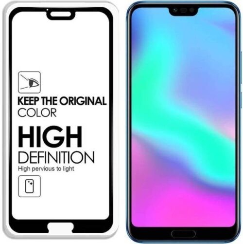 Honor 10 Tempered Glass Black High Quality 6D 2