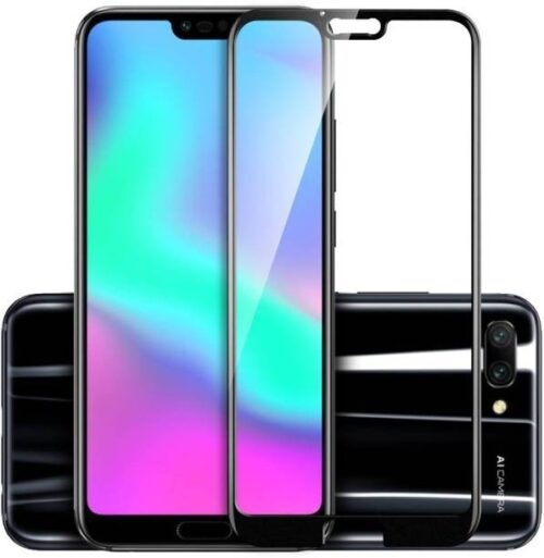 Honor 10 Tempered Glass Black High Quality 2