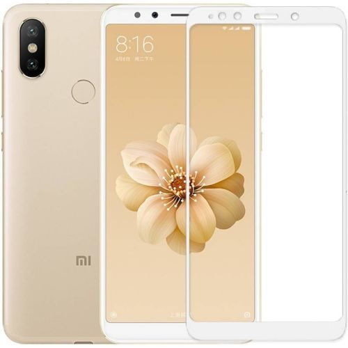 Xiaomi Mi A2 Tempered Glass White High Quality 1