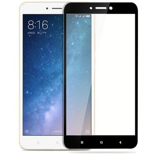 Xiaomi Mi Max Tempered Glass Black High Quality 1