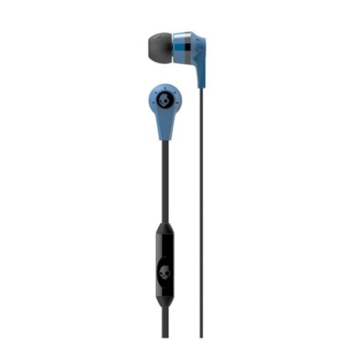Tigerify candy Ink'd Headset Headphones Earphones OG 3.5mm Jack with mic (Blue) 1