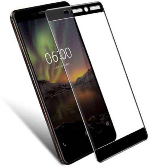 Nokia 6 2018 Tempered Glass Black High Quality 2