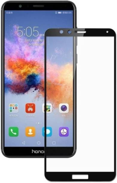 Honor 7X Tempered Glass Black High Quality 3