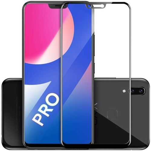 Tempered Glass Screen Protector Guard Coloured Full Glue For All VIVO Models