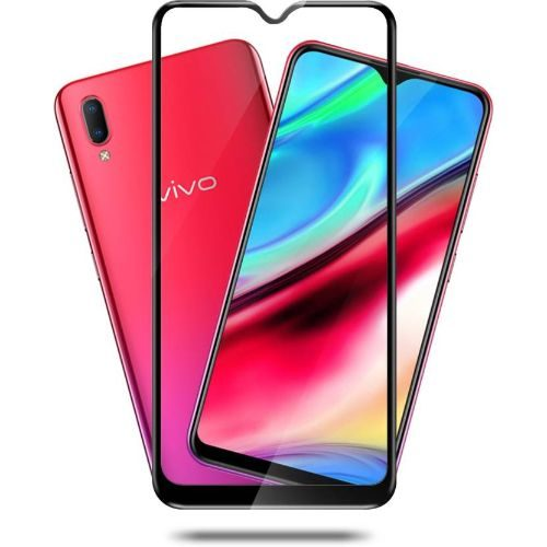 Vivo Y93 Tempered Glass Black High Quality 11D 1