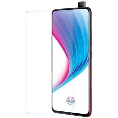 Vivo V15 Tempered Glass Black High Quality 1