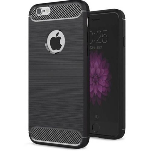 Apple iPhone 6s Hybrid Soft Black Cover 1