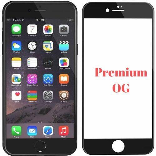Apple iPhone 8 Plus Tempered Glass Full Glue 6D Premium Black Color 1