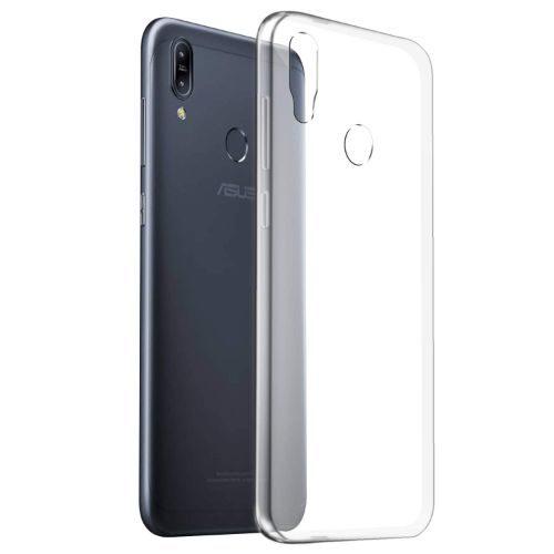 Asus Zenfone Max M2 Transparent Soft Back Cover Case 1