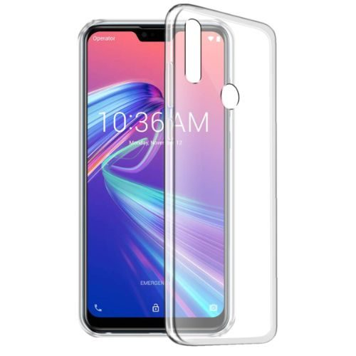 Asus Zenfone Max M2 Transparent Soft Back Case 1