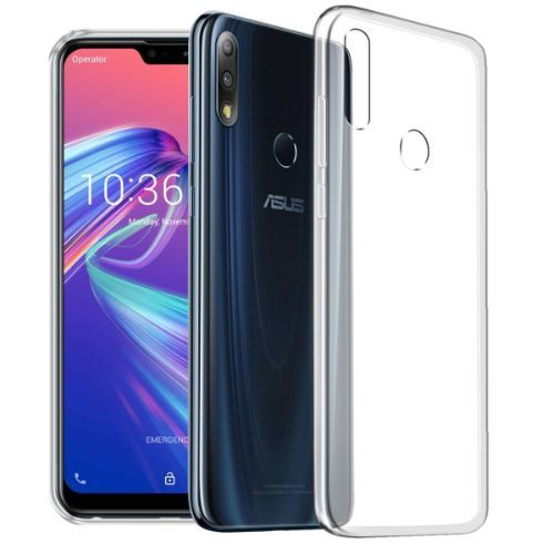 Asus Zenfone Max M2 Transparent Soft Back Cover 1