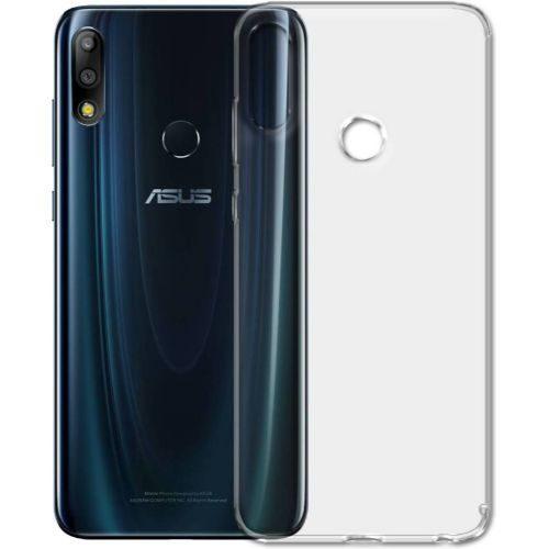 Asus Zenfone Max Pro M2 Transparent Soft Back Cover Case 1