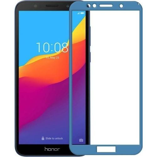 Honor 7S Tempered Glass Full Glue 6D Blue Color 1