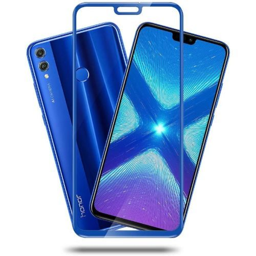 Huawei Y9 (2019) Tempered Glass Full Glue 6D Blue Colour 1