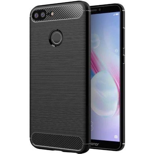 Honor 9 Lite Hybrid Soft Black Cover Case 1