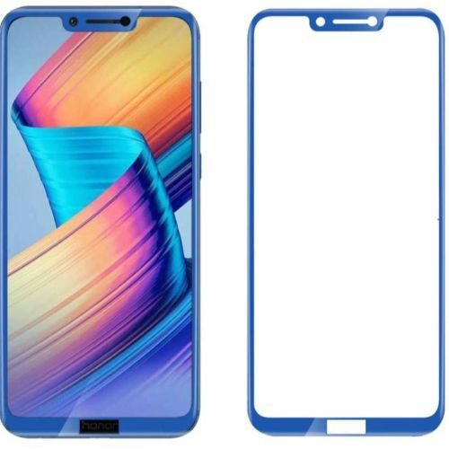 Honor Play Tempered Glass Full Glue 6D Blue Colour 1
