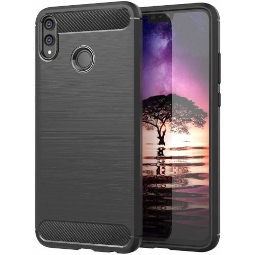 Huawei Y9 2019 Back Cover Case Black Color Hybrid 1