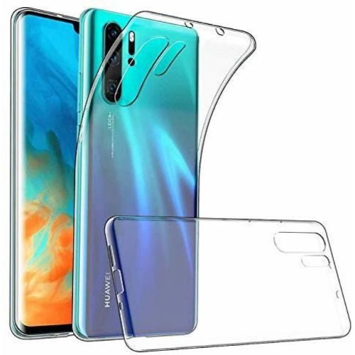 Huawei P30 Pro Transparent Soft Back Cover Case 1