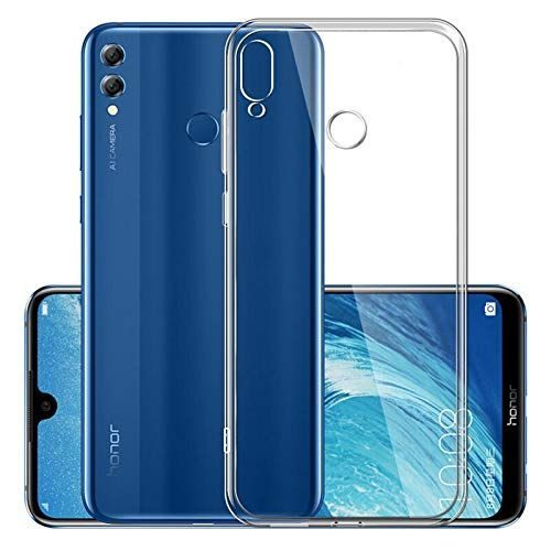 Huawei Y9 (2019) Transparent Back Cover Case 1