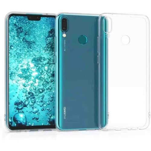 Huawei Y9 (2019) Transparent Soft Back Cover Case 1