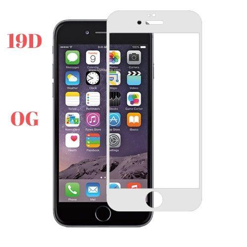 Apple iPhone 6 Plus Tempered Glass Full Glue 19D Premium White Color 1
