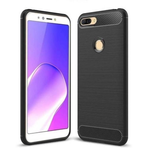 Infinix Hot 6 Pro Hybrid Soft Black Cover 1