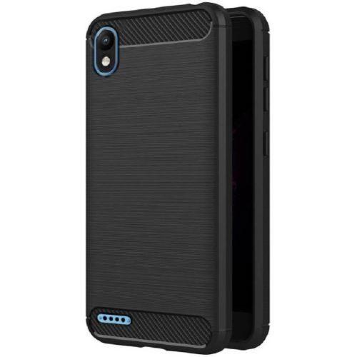 Infinix Smart 2 Hybrid Soft Black Cover Case 1