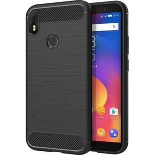 Infinix Hot S3 Hybrid Soft Black Cover 1