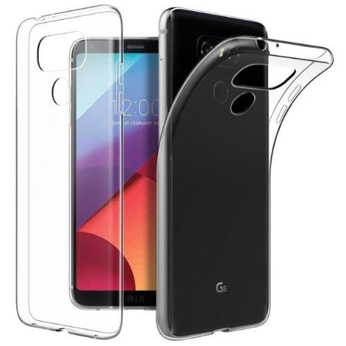 LG G6 Transparent Back Cover Case 1