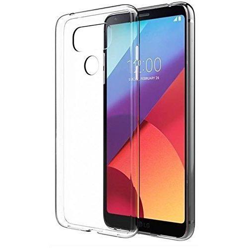 LG G6 Transparent Soft Back Cover Case 1