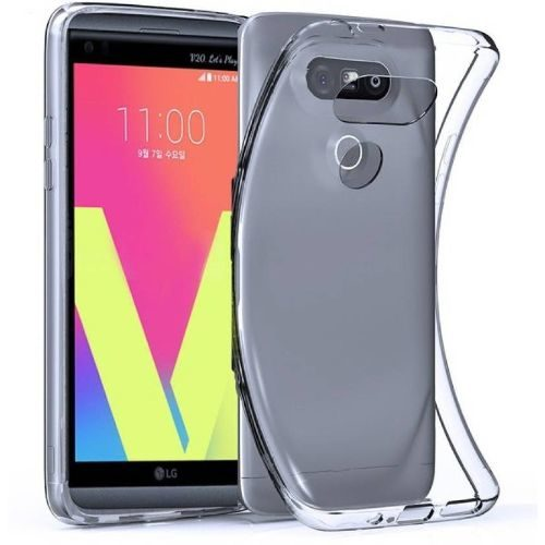 LG V20 Transparent Back Cover Case 1